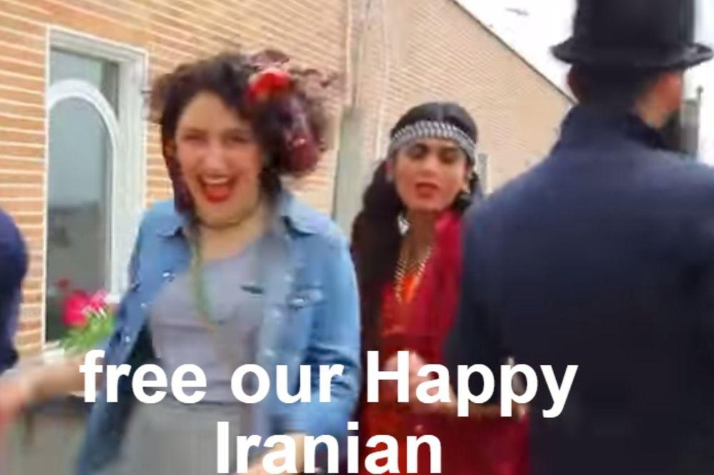 ZBOG IGRANJA UZ PESMU HAPPY: Iranci osuđeni na 6 meseci zatvora i 91 udarac bičem