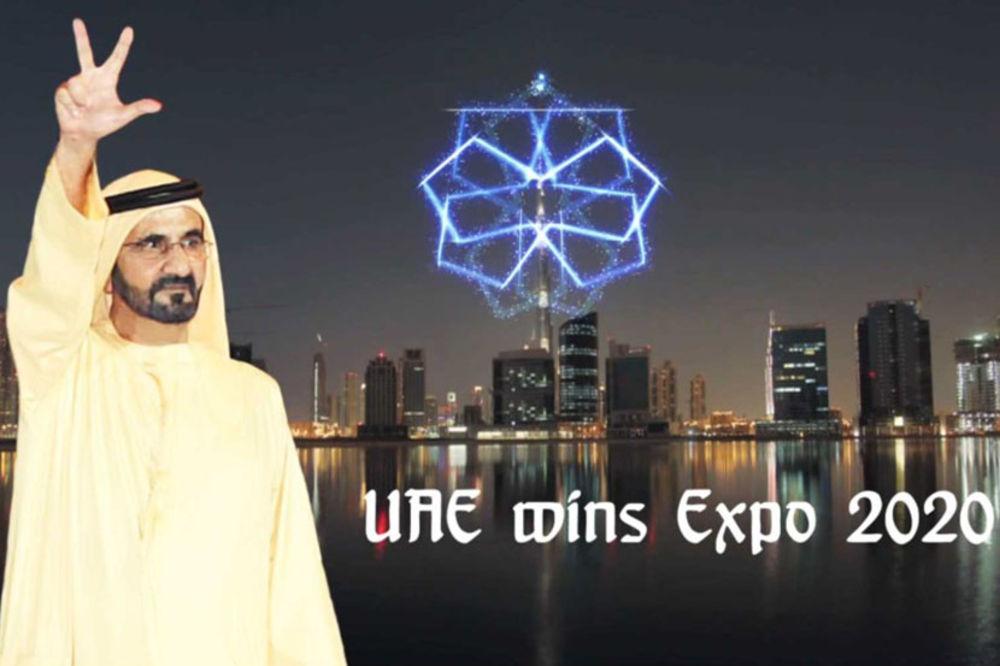 ŠEIK MUHAMED KAO SRBI: Ovako pozdravlja vladar Emirata!