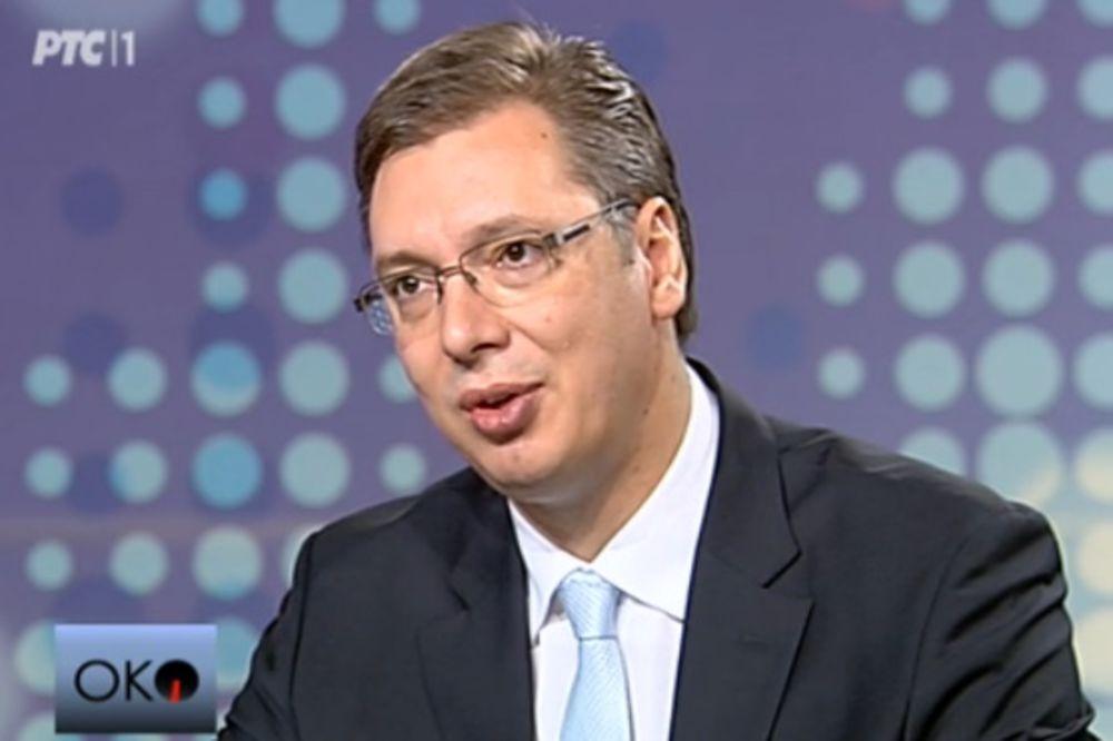 VUČIĆ: Plate i penzije do 25.000 dinara nećemo smanjivati!