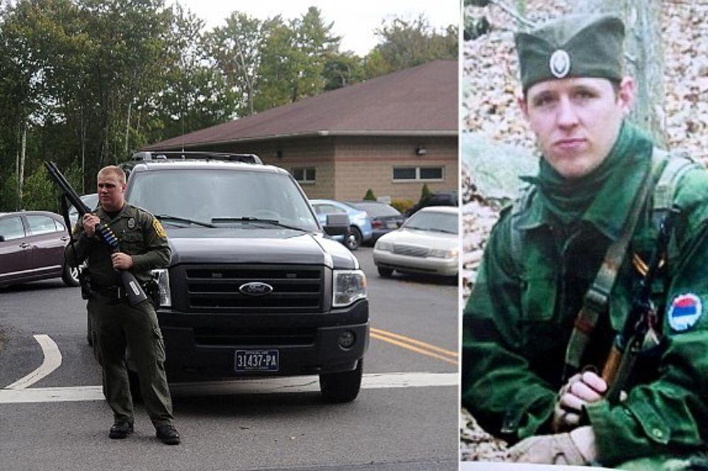 UBICA POLICAJCA IZMIČE POTERI: Amerikanac opsednut Srbima od kada se borio sa njima u Africi!