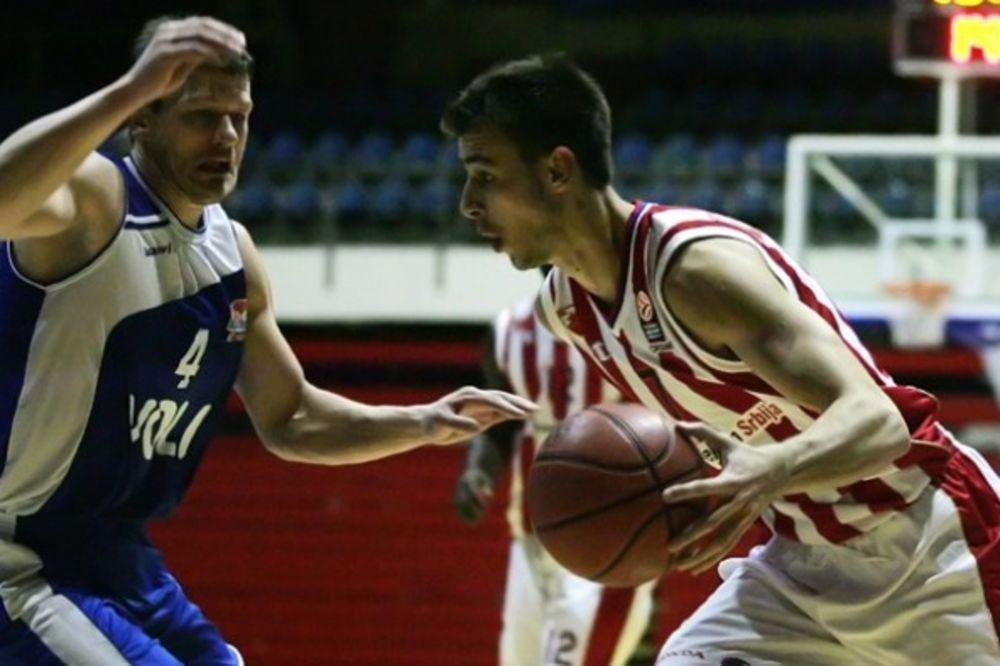 KOBNA PRVA ČETVRTINA: Košarkaši Crvene zvezde poraženi od Budućnosti u Beogradu