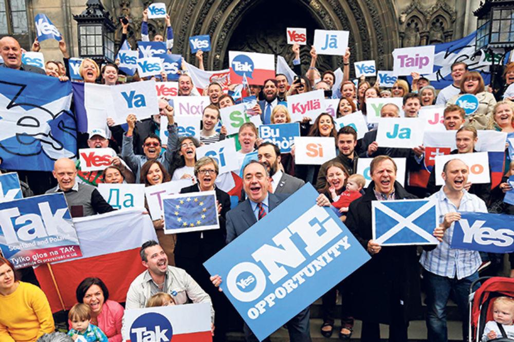 ISTORIJSKI DAN: Po ulicama Škotske se slavilo od jutra