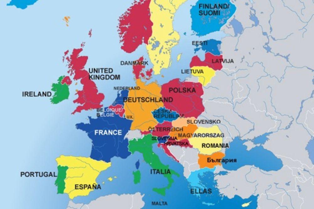 (FOTO) LUDILO SA MAPOM: Evropska komisija vratila nam Vojvodinu i dodala Crnu Goru!