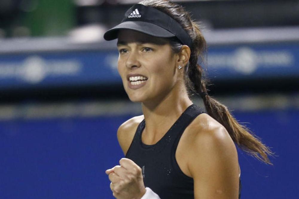 TENIS JOJ IDE BOLJE OD LJUBAVI: Ivanovićeva za samo 77 minuta u polufinalu Tokija!
