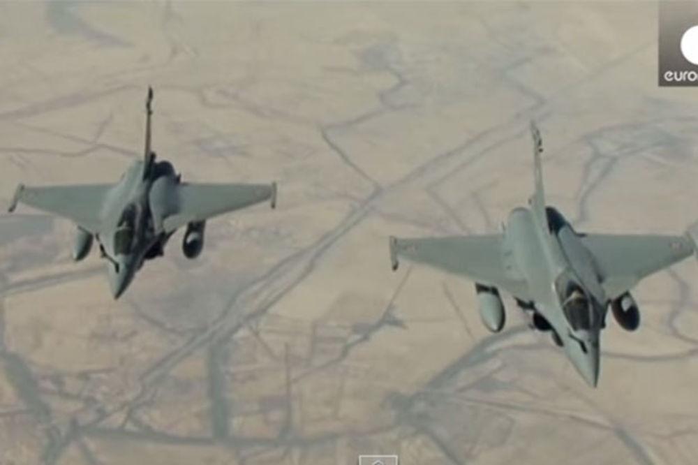 (VIDEO) FRANCUZI NAPALI ISIS: Evo kako su sravnili centar džihadista sa zemljom!