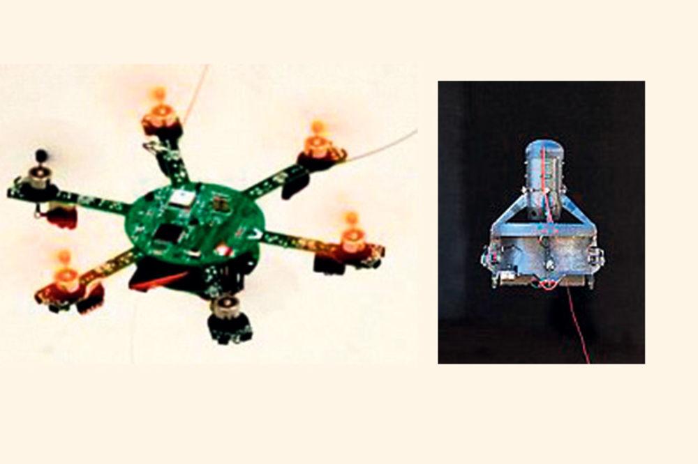 Nema bega od špijuniranja, napravljeni džepni dronovi