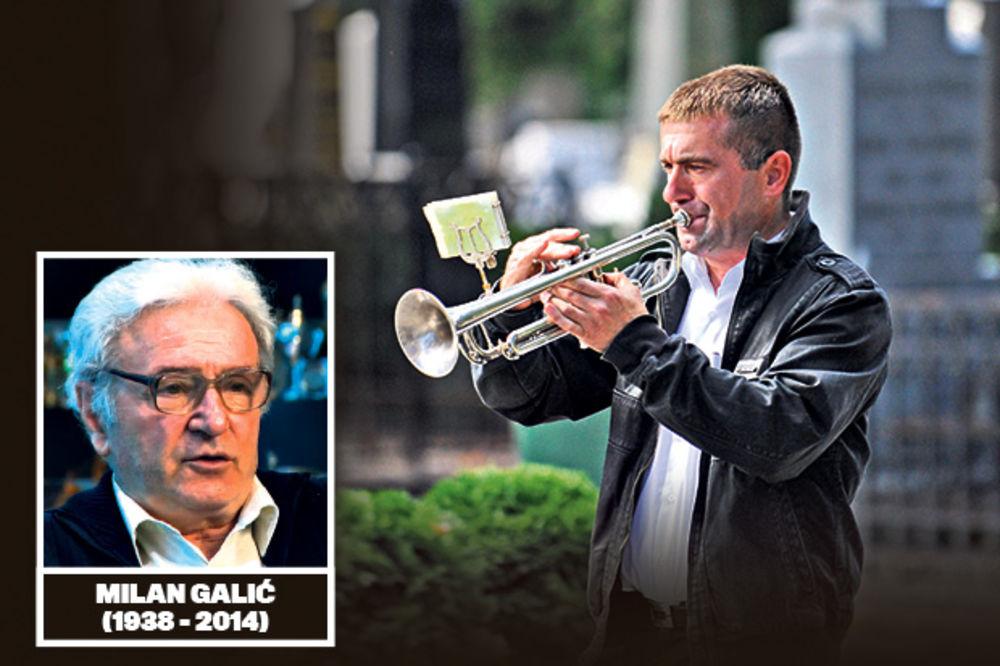 POSLEDNJE ZBOGOM: Milana Galića u legendu ispratila truba!