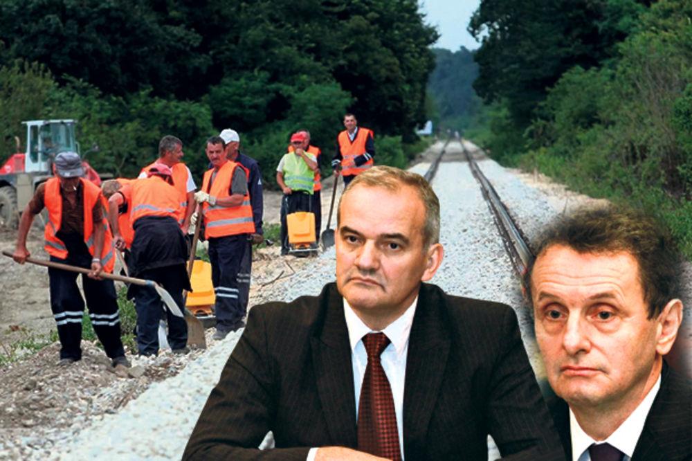 VLADA PREPORUČILA ŽELEZNICMA SRBIJE: Smenite Ćapina i Jankovića!