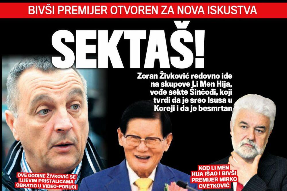 DANAS U KURIRU SEKTAŠ: Zoran Živković ide na skupove čoveka koji tvrdi da je sreo Isusa!