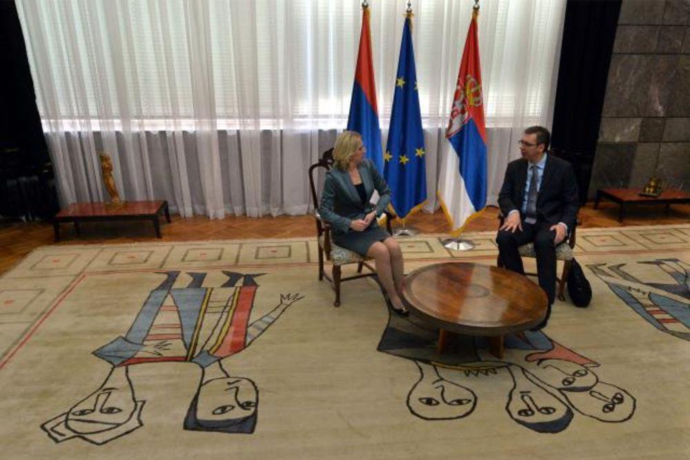 PALATA SRBIJA: Sastali se Vučić i Cvijanovićeva