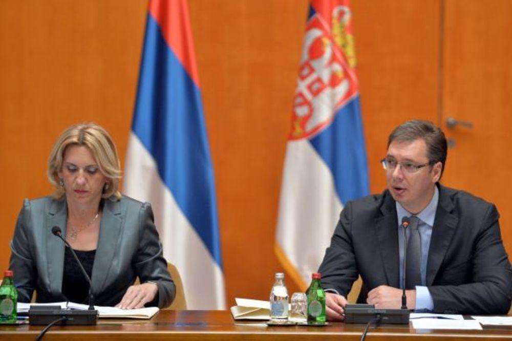 PALATA SRBIJA: Zajednička sednica vlada Srbije i RS