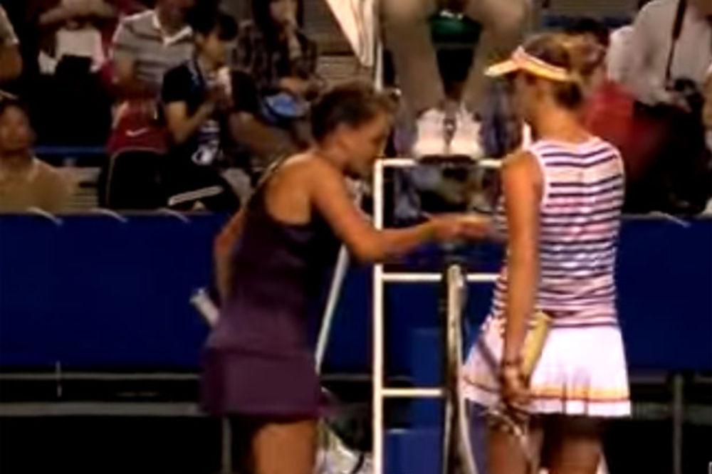 (VIDEO) RUKUJ SE KAO ČOVEK: Češka teniserka baš prodrmala Svitolinu