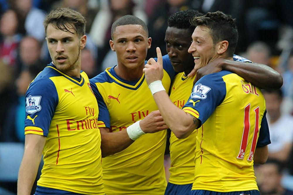 TOBDŽIJE KAO BARSA: Fudbaleri Arsenala do pobede uz 741 uspešno dodavanje