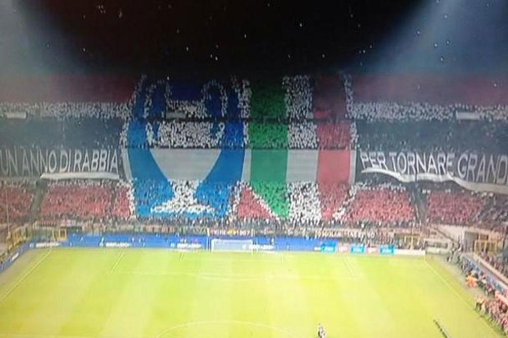 ZA DIVLJENJE I PAMĆENJE: Pogledajte koreografiju navijača Milana!
