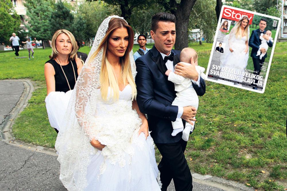 EKSKLUZIVNO ZA STORY: Jovana Joksimović je insistirala na crkvenom venčanju!