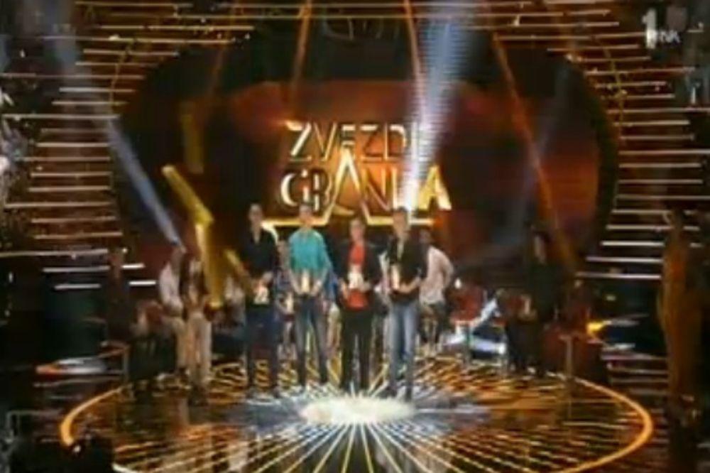 ZVEZDE GRANDA: Željko, Daniel, Hamza, Velid i Stefan su prošli dalje!