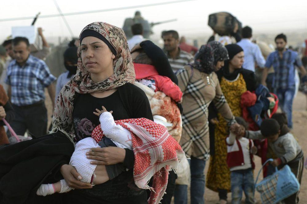 UNHCR: U Tursku za 24 časa prebeglo oko 70.000 Sirijaca!