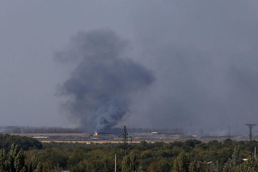 NOVI SUKOBI: Eksplozije oko Donjecka, poginula dva ukrajinska vojnika
