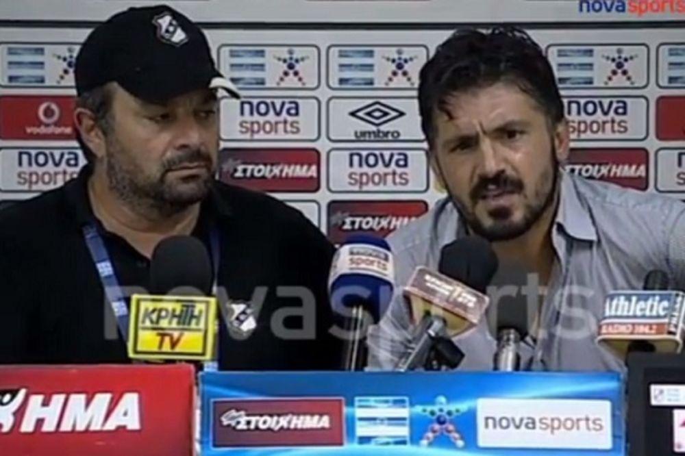 (VIDEO) KAD GATUZO POBESNI: Pogledajte kako Italijan odgovara na novinarska pitanja