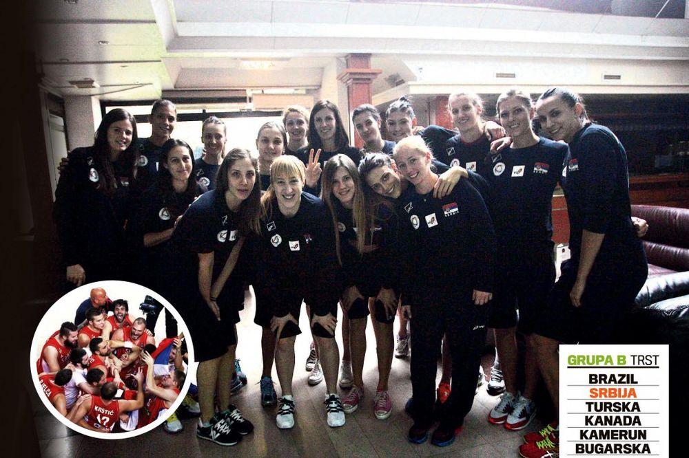 Odbojkašice Srbije: Hoćemo i mi kao košarkaši