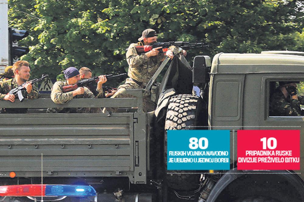 Ruski vojnici: Hodamo ovde i tražimo je.ene Ukrajince!