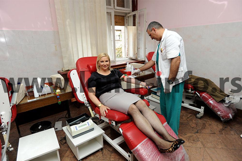 PRIHVATILA IZAZOV: Mihajlovićeva dala krv i nominovala...