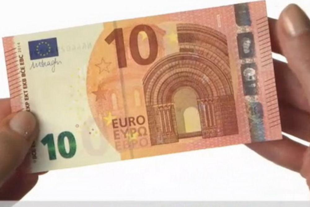 DA VAS NE PREVARE: Ovo je nova novčanica od 10 evra