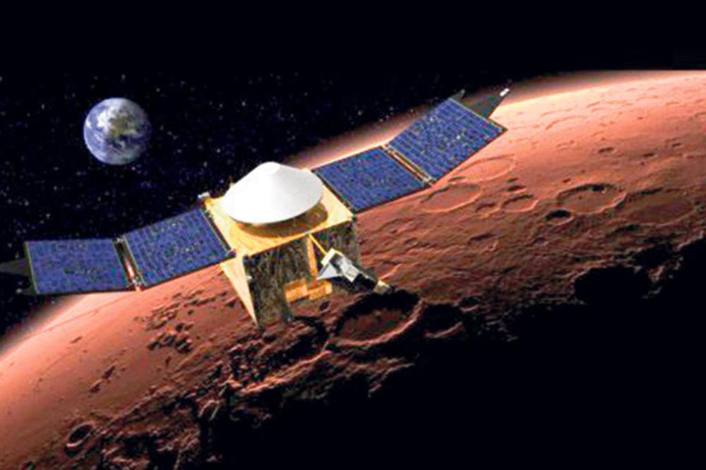 SVEMIR: Sonda Mejven stigla do orbite Marsa