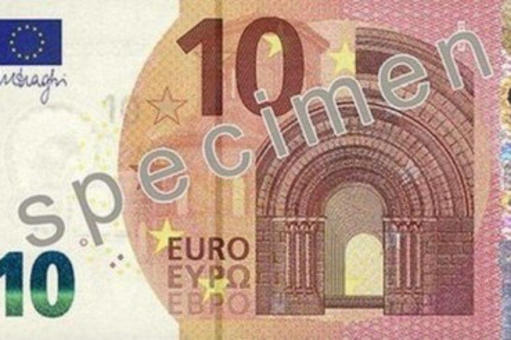 DA SE NE ZABUNITE: Ovako izgleda nova novčanica od 10 evra