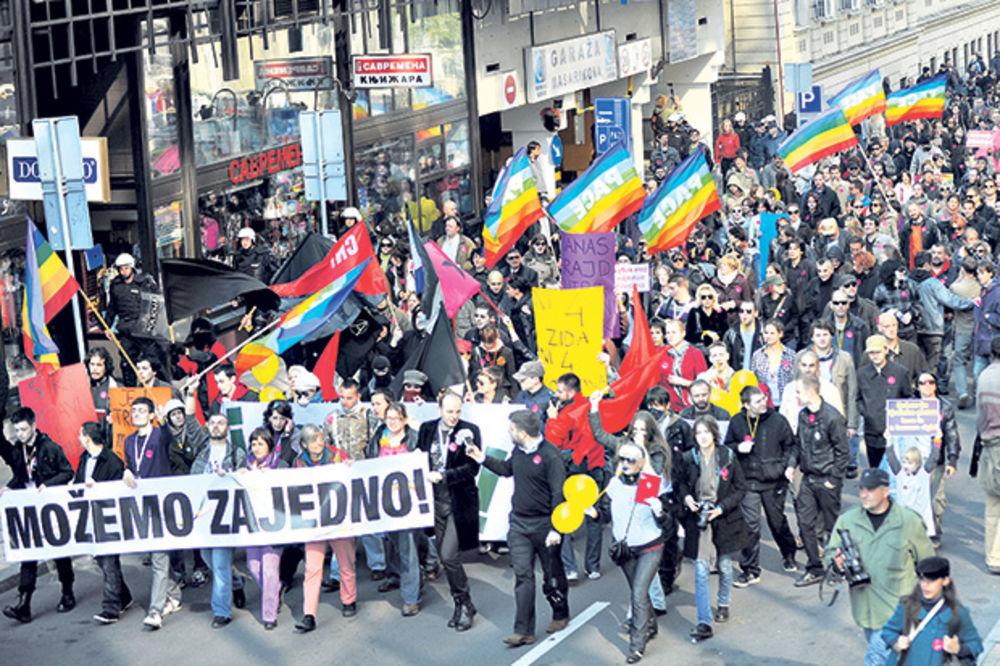 Organizatori Prajda: Uvereni smo da će biti parade, Stefanović nam to garantuje!