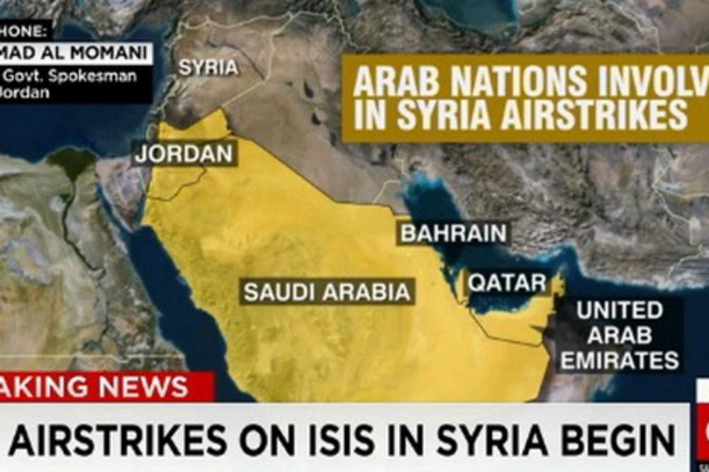 UŽIVO SIRIJA: Počeli vazdušni udari na džihadiste u Siriji