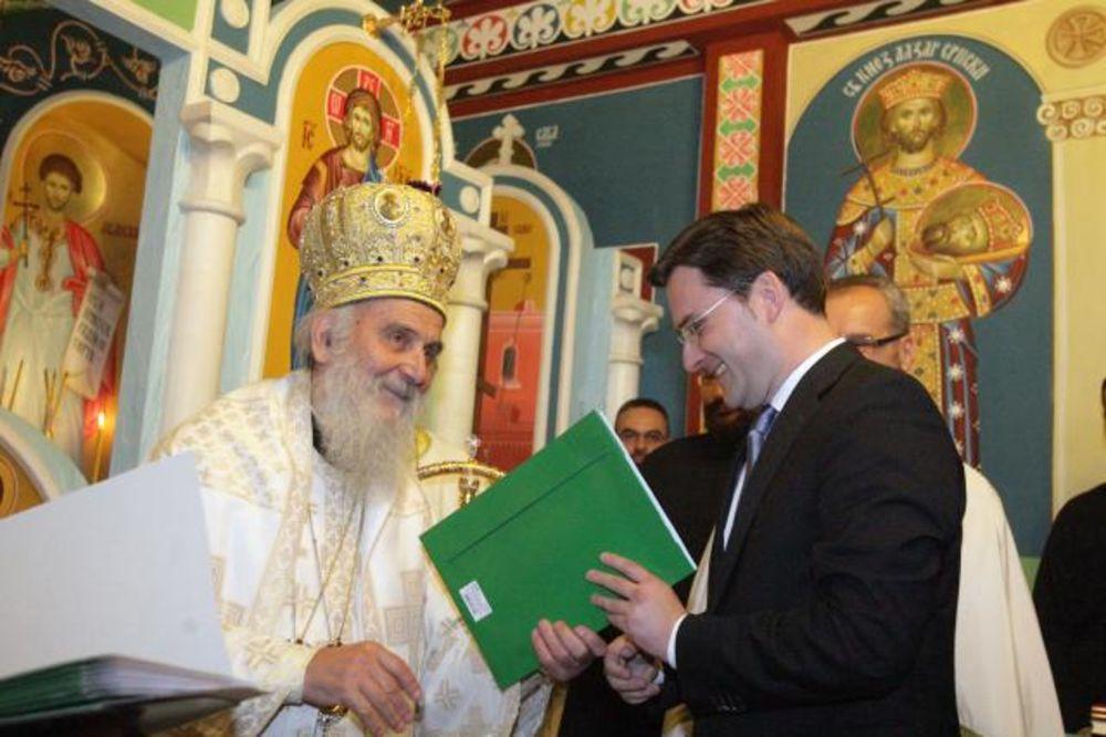 Patrijarh Irinej osveštao kapelu u CZ