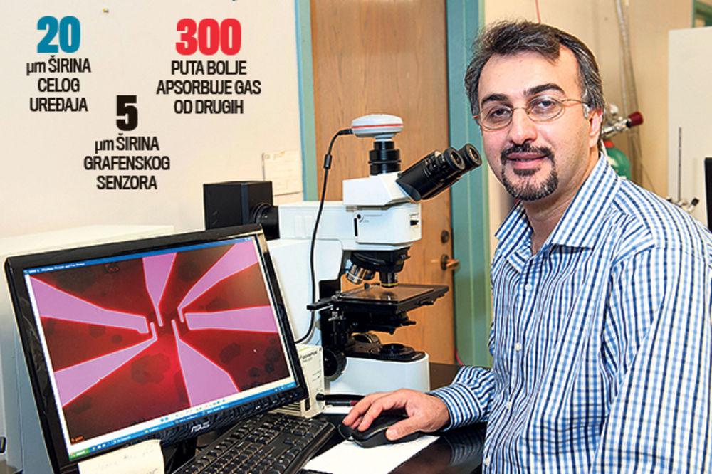 NAPREDAK: Elektronski nos prave od grafena