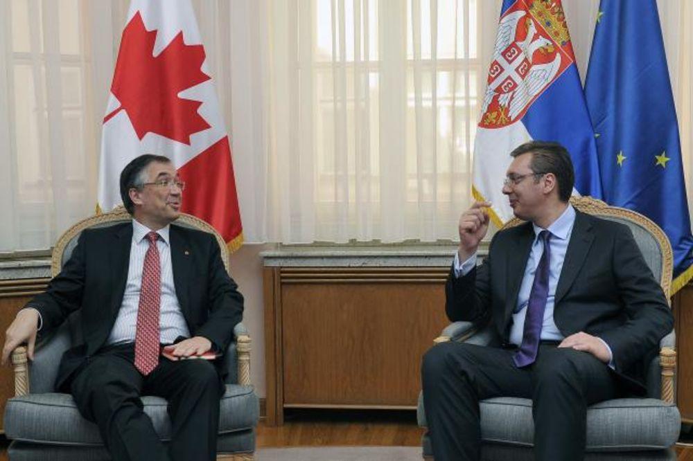 Vučić sa Vaščukom: Kanadske kompanije su dobrodošle u Srbiju
