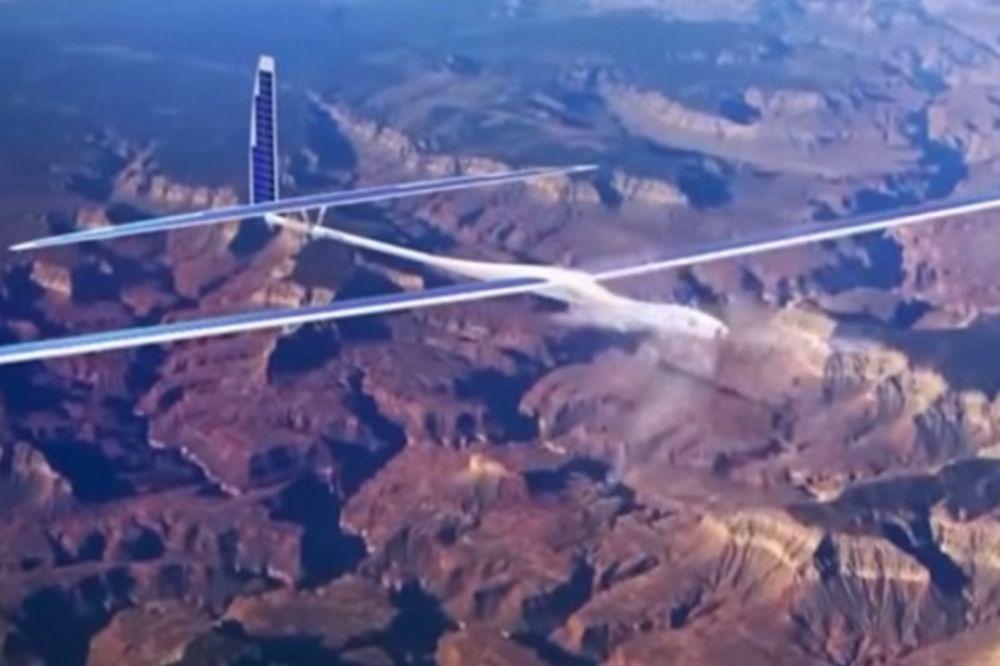 PODUHVAT OD KOME BRUJI PLANETA: Fejsbuk pravi dronove velike kao boing 747!
