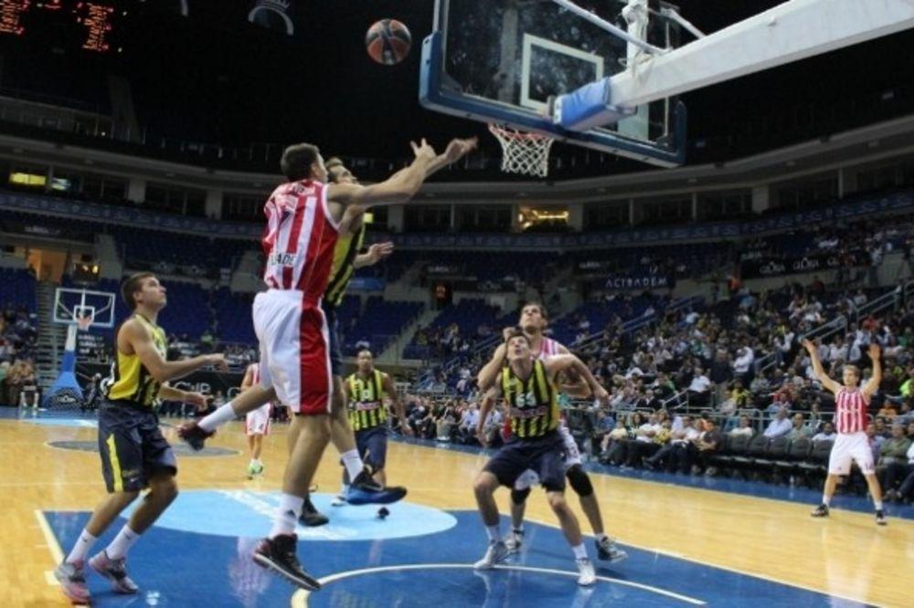FENERBAHČE PREJAK: Drugi poraz košarkaša Zvezde u Istanbulu
