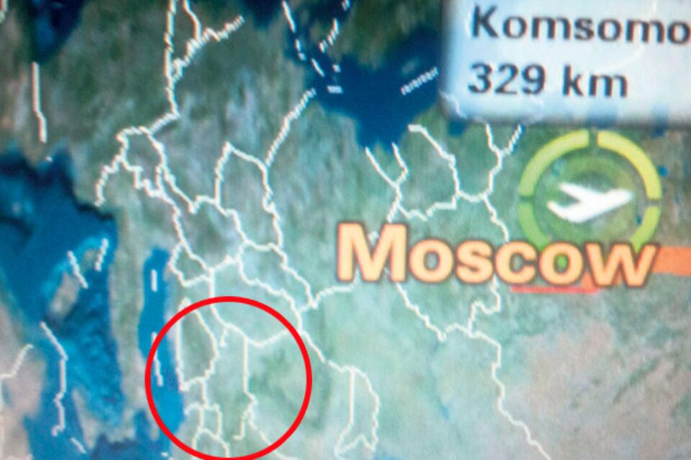POBRKALI LONČIĆE: Ruski Aeroflot odbacio Krim i priznao Kosovo!