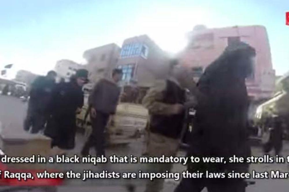 (VIDEO) ŽIVOT U TERORU: Pogledajte kako je rizikovala život da snimi život pod ISIL