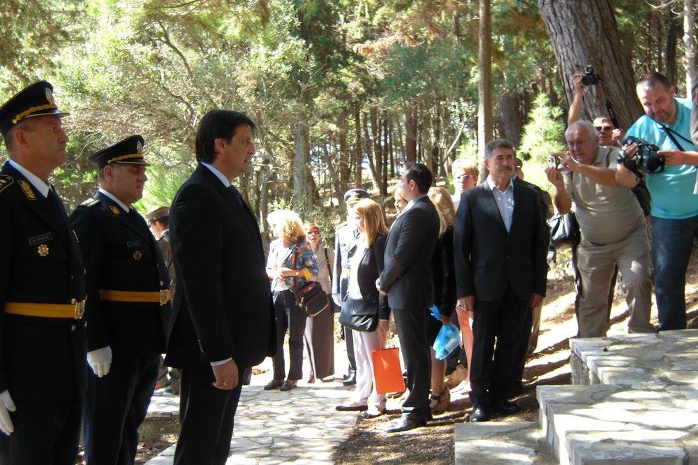 GAŠIĆ NA KRFU: Sloboda i čast srpskog vojnika se pamte!