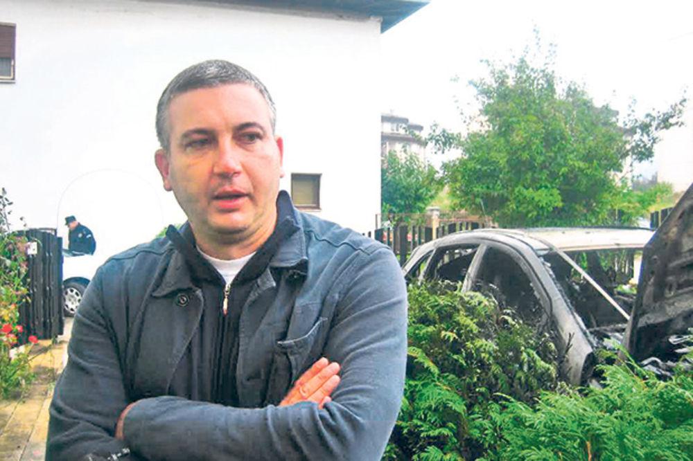 Izgoreo auto člana gradskog veća Vranja