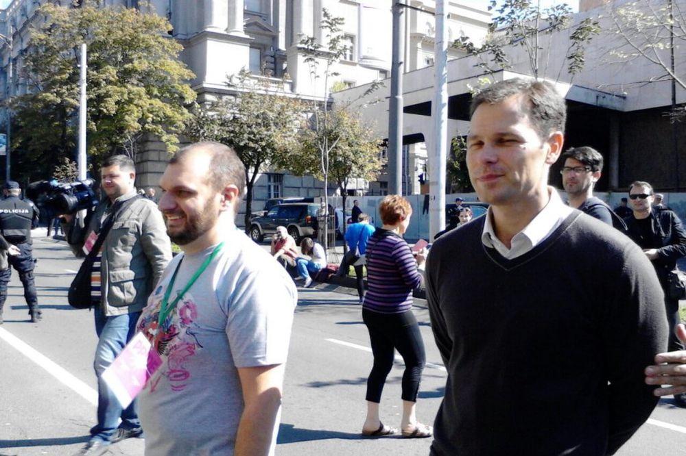 MINISTRI NA PRAJDU: Udovički, Tasovac, Joksimović, Mišćević i Mali šetaju na Paradi!