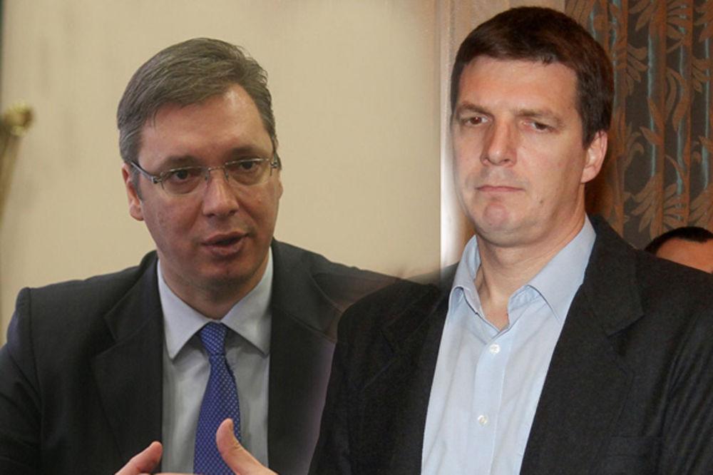 Aleksandar Vučić, Andrej Vučić