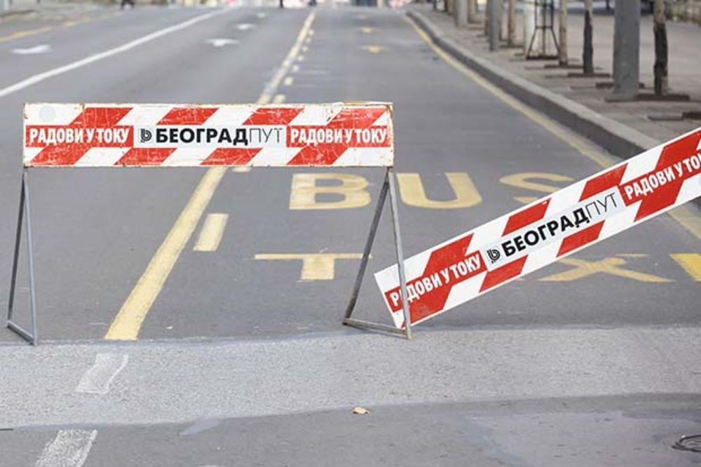 RADOVI U VOJVODE STEPE: Nikšićka od danas slepa ulica i zatvorena za saobraćaj