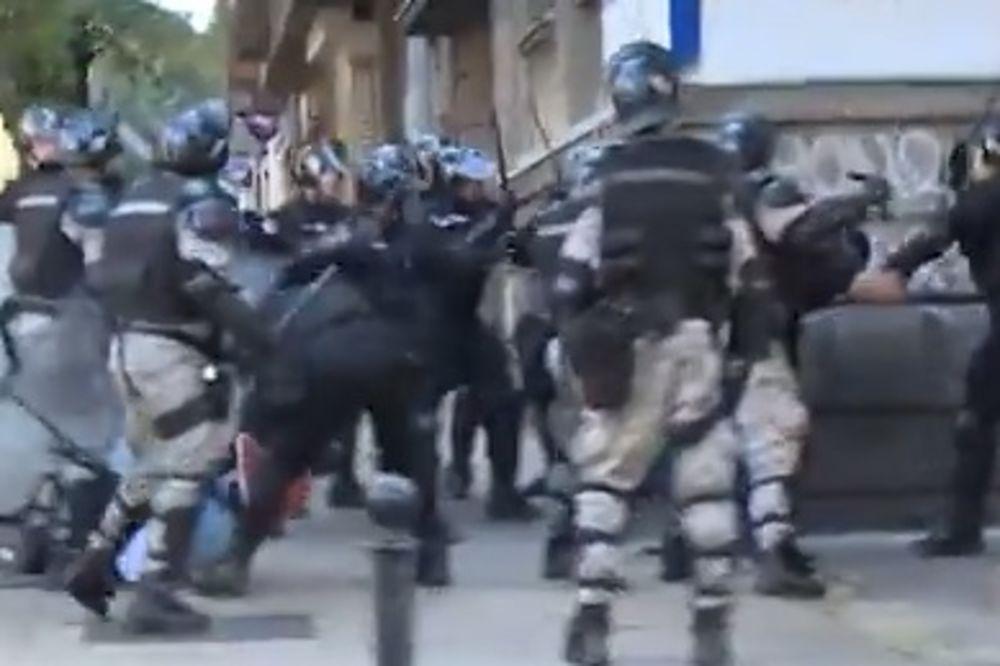 ŽANDARMI TUKLI I BRATA SINIŠE MALOG: Polupali glavu bratu gradonačelnika Beograda! (VIDEO)