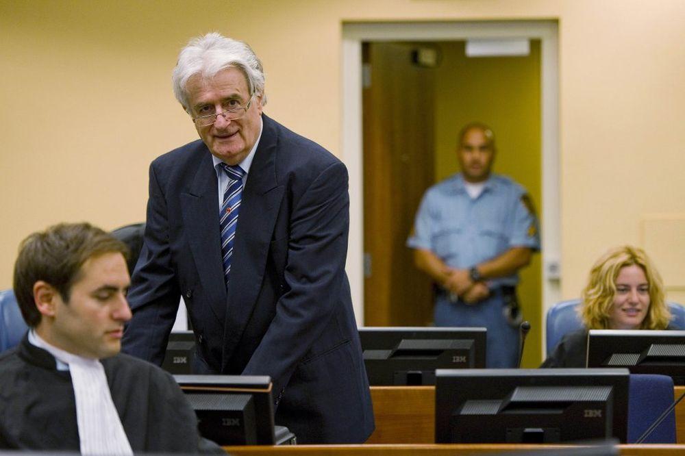 HAŠKI SUD: Od danas završne reči na suđenju Karadžiću