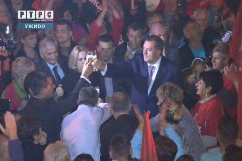 Dodik: Velika pobeda SNSD u Laktašima