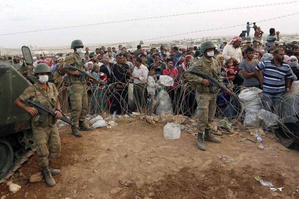 VOJNE PRIPREME: Turska pred ulaskom u koaliciju protiv ISIL