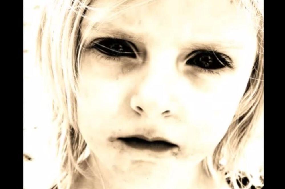 UTVARA SA CRNIM OČIMA: Devojčica uteruje strah u kosti Britancima