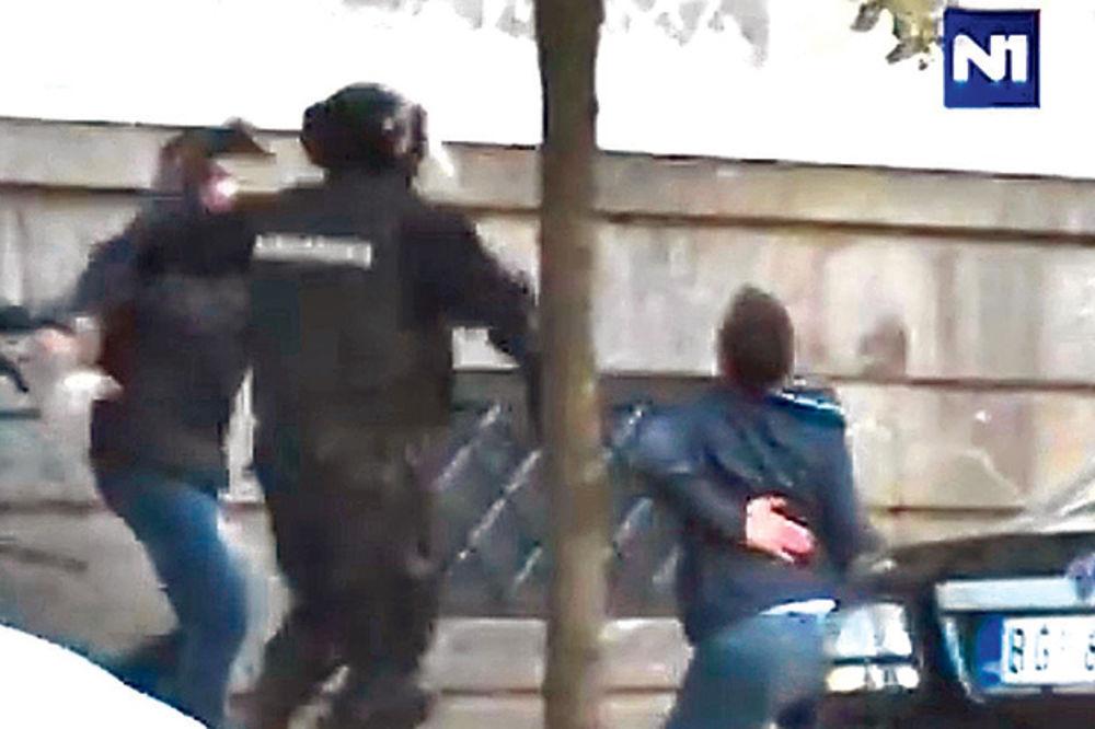NOVI DETALJI: Odred smrti Vučiću umalo polomio kičmu!