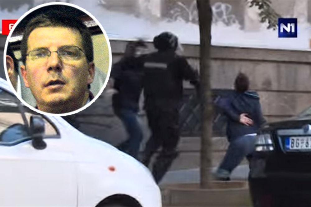 Andrej Vučić: Uredno smo pokazali legitimacije, ali upravo one bile su povod za brutalno prebijanje!